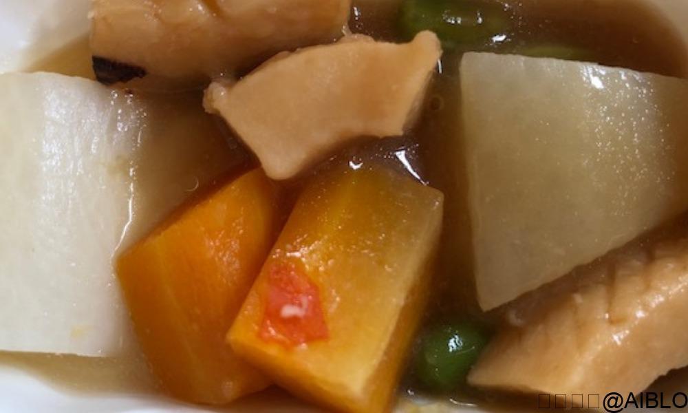 まごころケア食 イカと野菜の煮物